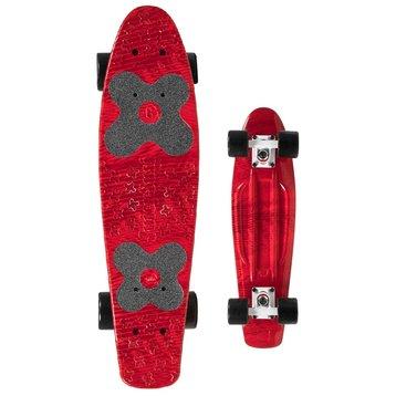 "Choke Choke Juicy Susi 22.5"" skateboard Red Zora"