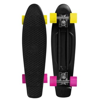 Choke Choke Shady Lady skateboard black