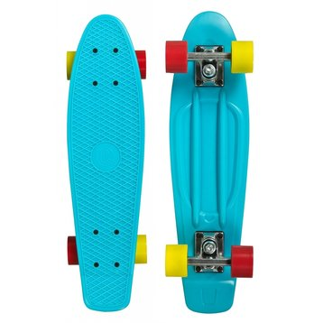 Choke Choke Shady Lady skateboard Cyan