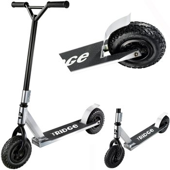 Ridge Ridge Dirt Scooter Off Road step Zilver