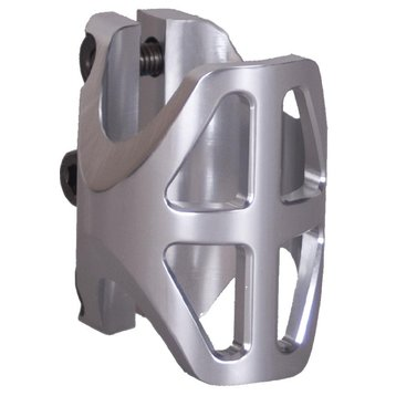 District District Light Weight Triple Clamp Silver- Standard
