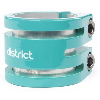 District District Double lightweight clamp Turquoise