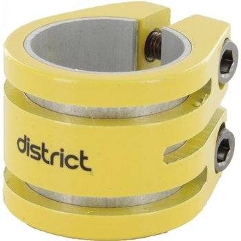 District District Double lightweight clamp Yellow