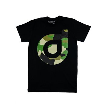 District District Logo T-shirt Camo