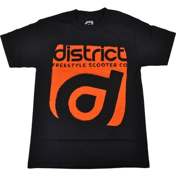 District District Scooter T-shirt Stamp