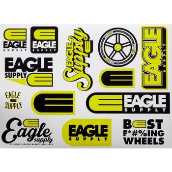 Eagle Supply Eagle-Versorgung-Aufkleber-Blatt