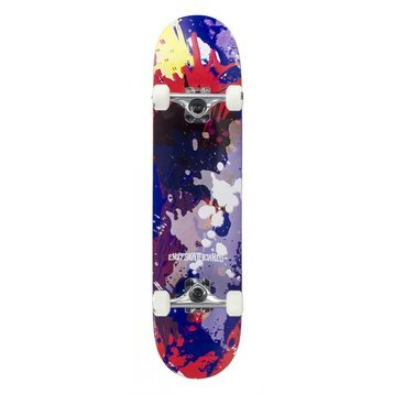 "Enuff Enuff Splat Skateboard Red / Blue 7.75"""