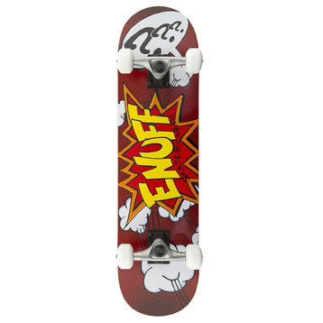 "Enuff Enuff Pow 31 ""Skateboard Red"