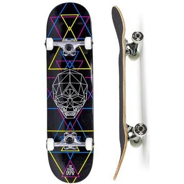 Enuff Enuff Geo Skull Skateboard 8.0 CMYK