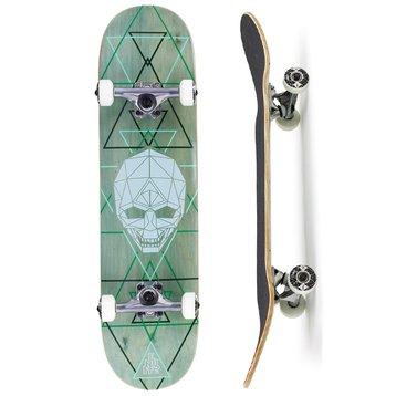Enuff Enuff Geo Skull Skateboard 8.0 Grün