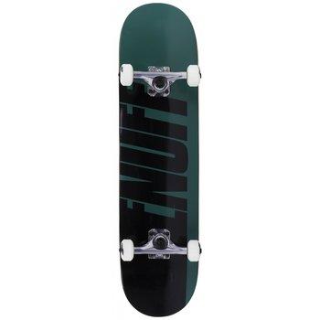 Enuff Enuff Half Stain Skateboard Green