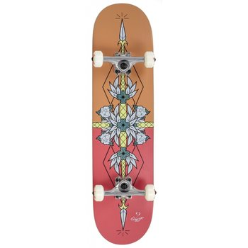 """Enuff Enuff Flash Skateboard Orange 8 """""""