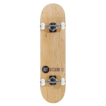 "Enuff Enuff Logo Stain Skateboard 8.0"" Natural"