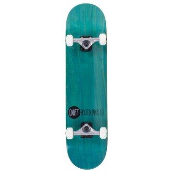 """Enuff Enuff Logo Stain Skateboard 7.75"""" Teal"""