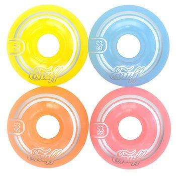 Enuff Skateboardwielen pastel 53mm (set van vier)