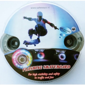 4 stuks light up skateboard wielen