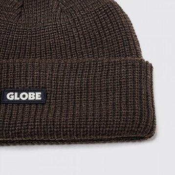 Globe Globe Bar Beanie Black