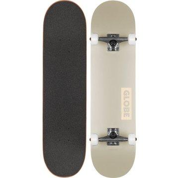 """Globe Globe Goodstock Skateboard Off White 8.0"""""""