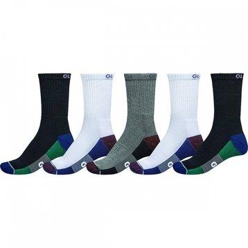 Globe Globe Evan Crew Sport Sock 5pck