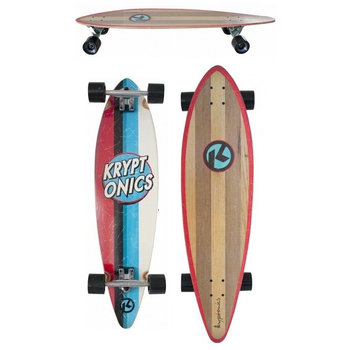 "Kryptonics Kryptonics Kaiula 38"" Pintail longboard"