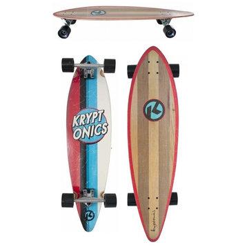 """Kryptonics Kryptonics Kaiula 38"""" Pintail longboard"""