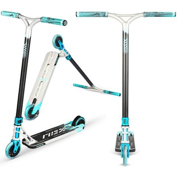 MGP Madd Gear MGX Extreme stuntstep Zilver turquoise
