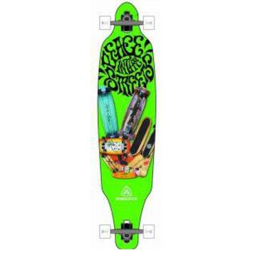 Miller Green Surf Drop-Through Longboard