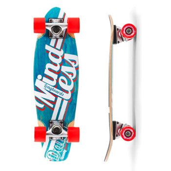 Mindless Cruiserboard M. Daily Stained Blue White