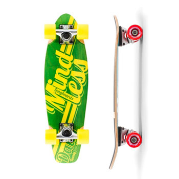 Mindless Cruiserboard M. Daily Stained Green Yellow