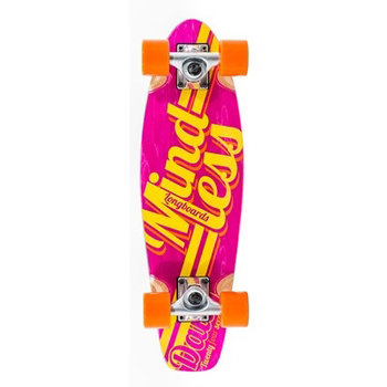 Mindless Cruiserboard M. Daily Stained Red Yellow