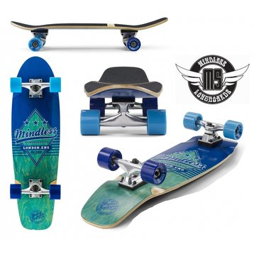 Mindless Cruiserboard Mindless Daily Grande II Blue