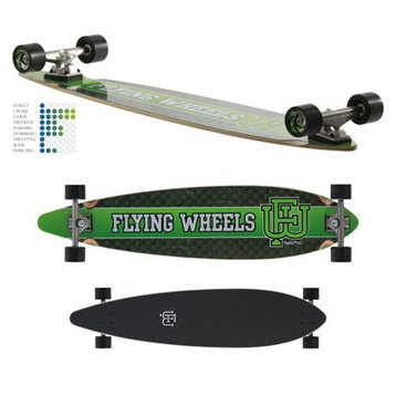 Flying Wheels Flying Wheels Varsity pintail longboard