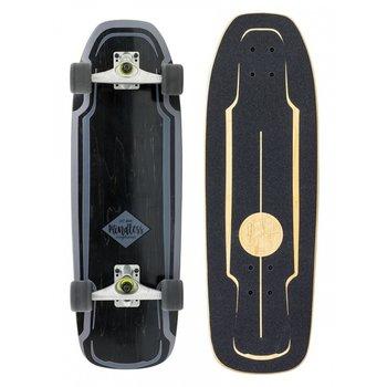 Mindless Mindless Surf Skate Black carve board
