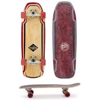 Mindless Mindless Surf Skate Maroon carve board