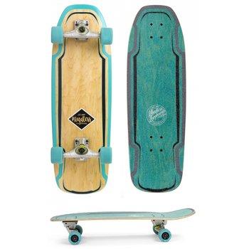 Mindless Mindless Surf Skate Teal carve board