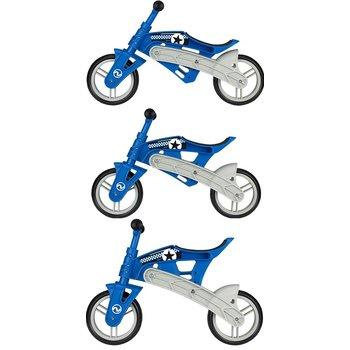 Nijdam Nijdam N Rider loopfiets blauw