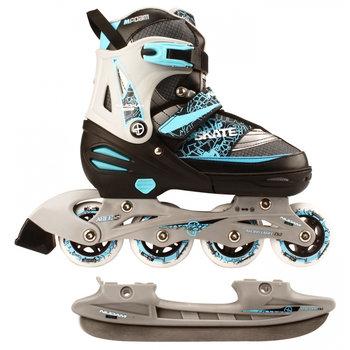 Nijdam Nijdam Verstelbare Skate / Schaats Combo Blauw
