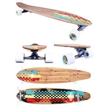 """Nijdam Nijdam 42 """"Longboard Kicktail Bambus II"""