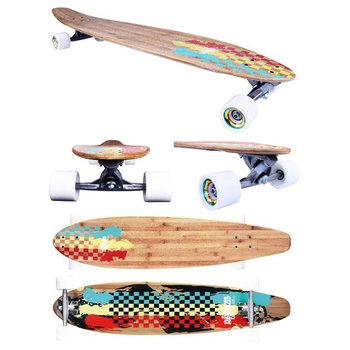 "Nijdam Nijdam 42""Kicktail longboard bamboo II"