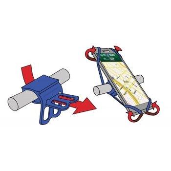 OTG Strap OTG Strap blue smartphone houder