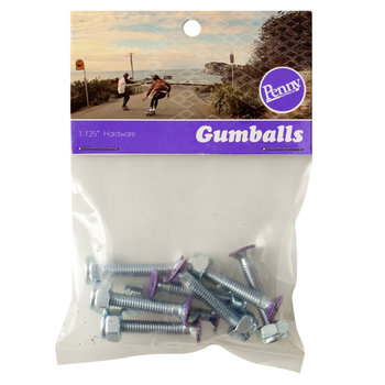 Penny Penny Gumballs - Truck Boutjes - Purple