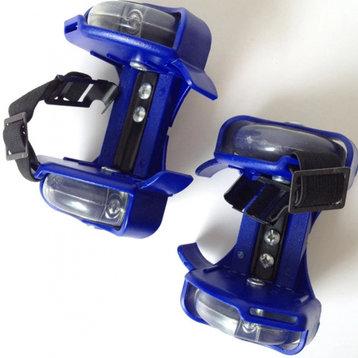 Fun Flashing Rollers Blue