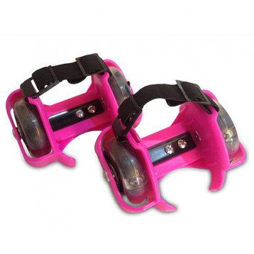 Fun Flashing Rollers Pink