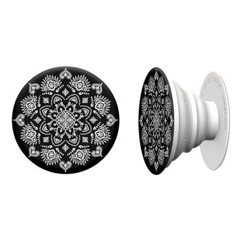 PopSockets PopSocket Quiet Darkness Mandala White