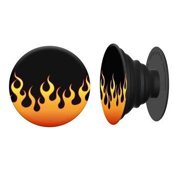 PopSockets PopSocket flames Black