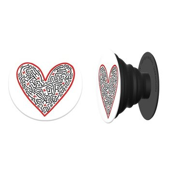 PopSockets PopSocket Keith Haring Figures in Heart