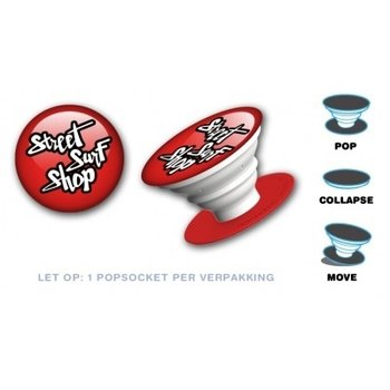 PopSockets PopSocket Streetsurfshop Red-White