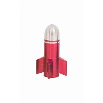 Qu-Ax Ventieldopje Voor Eenwieler Raket Rood