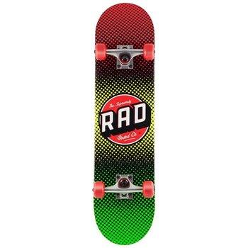 Rad Rad Rasta Fade Dude Crew 7.5 Skateboard