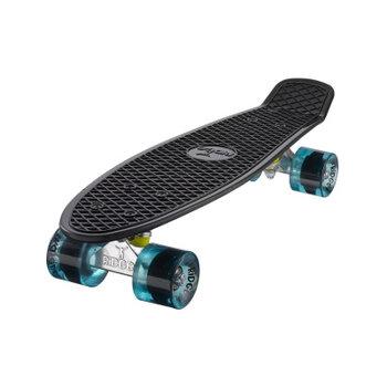 "Ridge Ridge Retro board 22"" black met clear blue wheels"